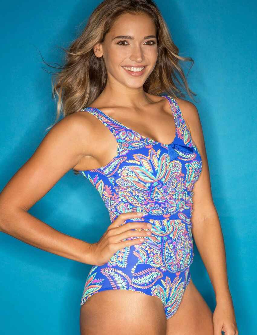 6750951862 Amalfi Control Swimsuit - 75006 Blue