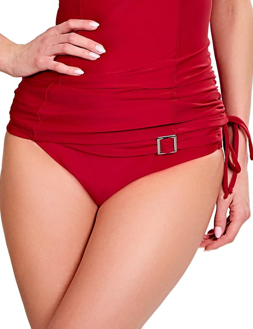 New Lower Price......panache Loren Drawside Bikini Brief Sw0513 Red Bademode