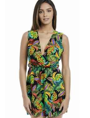 2914 Freya Electro Beach Dress Tropical - 2914 Tropical