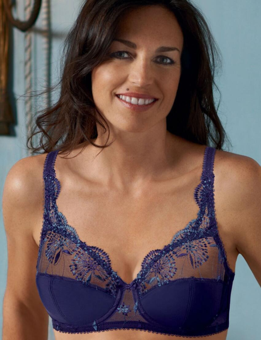 P004M Playtex Sophisticated Tulle Bra Blue - P004M Bra