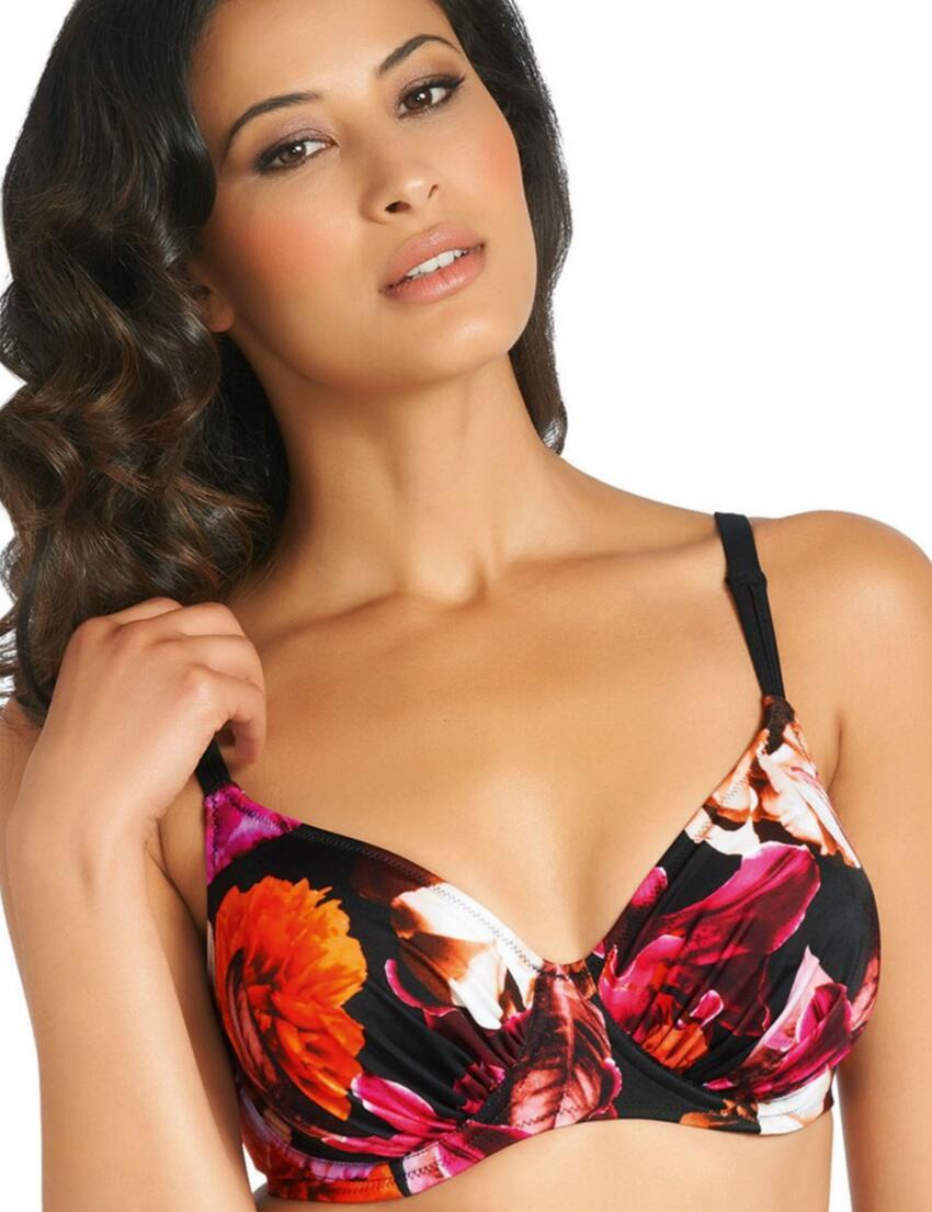 5916 Fantasie Ecuador Gathered Full Cup Bikini Top - 5916 Bikini Top