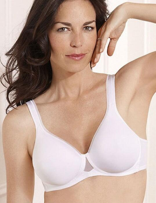 P004R Playtex Absolute Comfort Spacer Bra - P004R White
