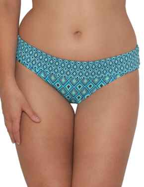 CS3425 Curvy Kate Revive Fold-Over Bikini Brief - CS3425 Aqua Print