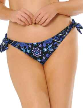CS4315 Curvy Kate Free Spirit Tie Side Bikini Brief - CS4315 Blue Mix