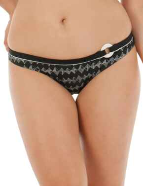 CS4405 Curvy Kate Euphoria Mini Bikini Brief - CS4405 Monochrome