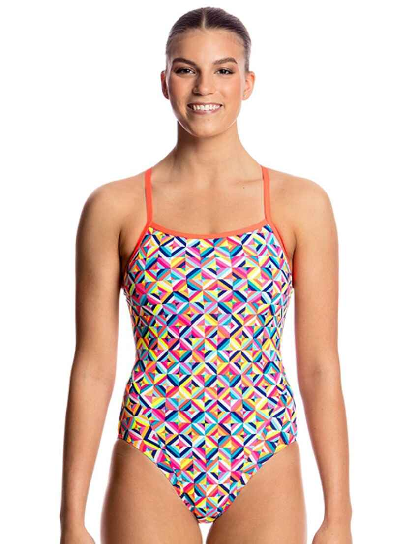 922ad04b43bc1 Save · FS15L01635 Funkita Ladies Single Strap One Piece Swimsuit -  FS15L01635 Flash Bomb