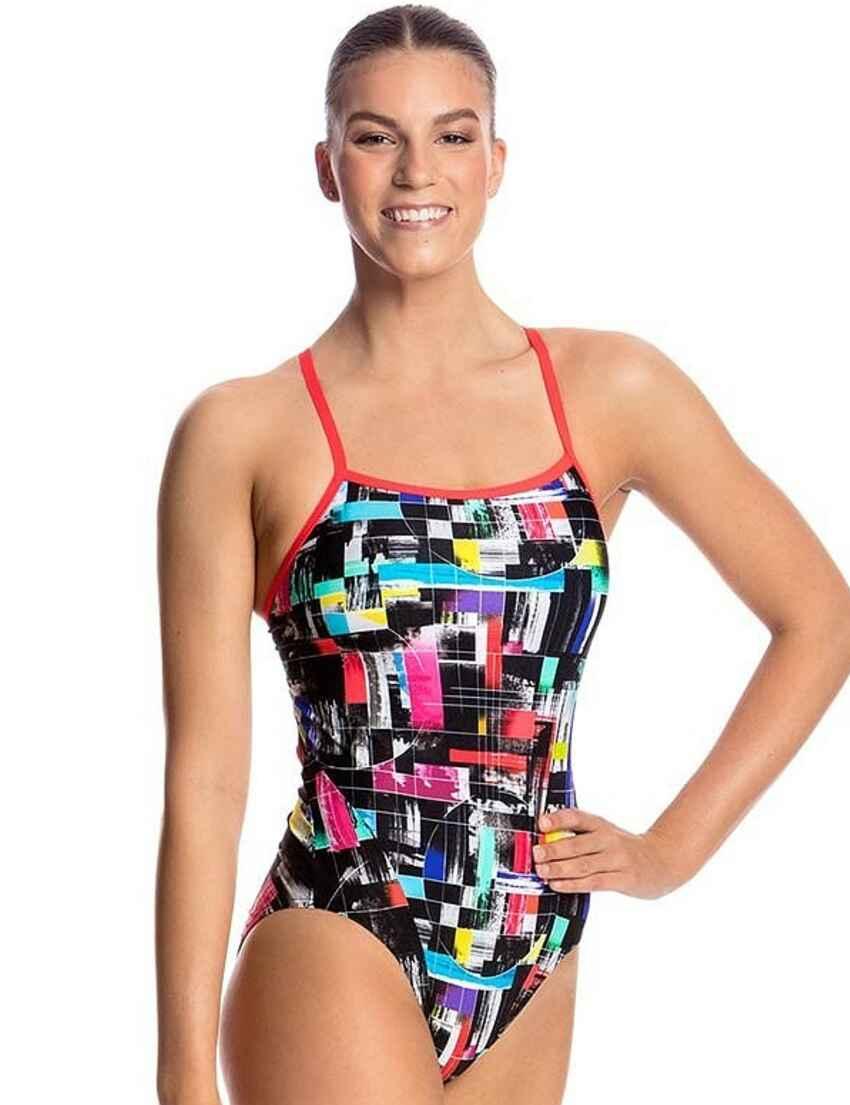 2f02eaf30a6b3 Save · FS15L01802 Funkita Ladies Single Strap One Piece Swimsuit -  FS15L01802 Test Signal