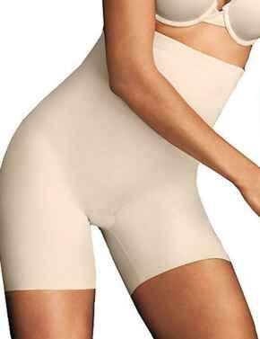DM2561 Maidenform Sleek Smoothers High-Waist Shaping Shorty - DM2561 Paris Nude