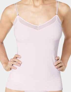 10186020 Sloggi S Silhouette Camisole Vest Top - 10186020 Angora