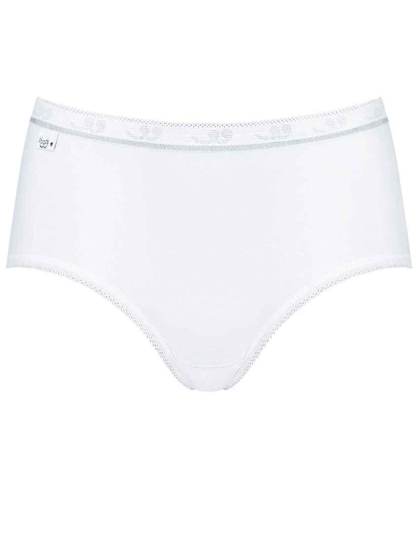 Mini 95/% Cotton Brief 10181251 3 Pack Womens Sloggi Basic White Diamond