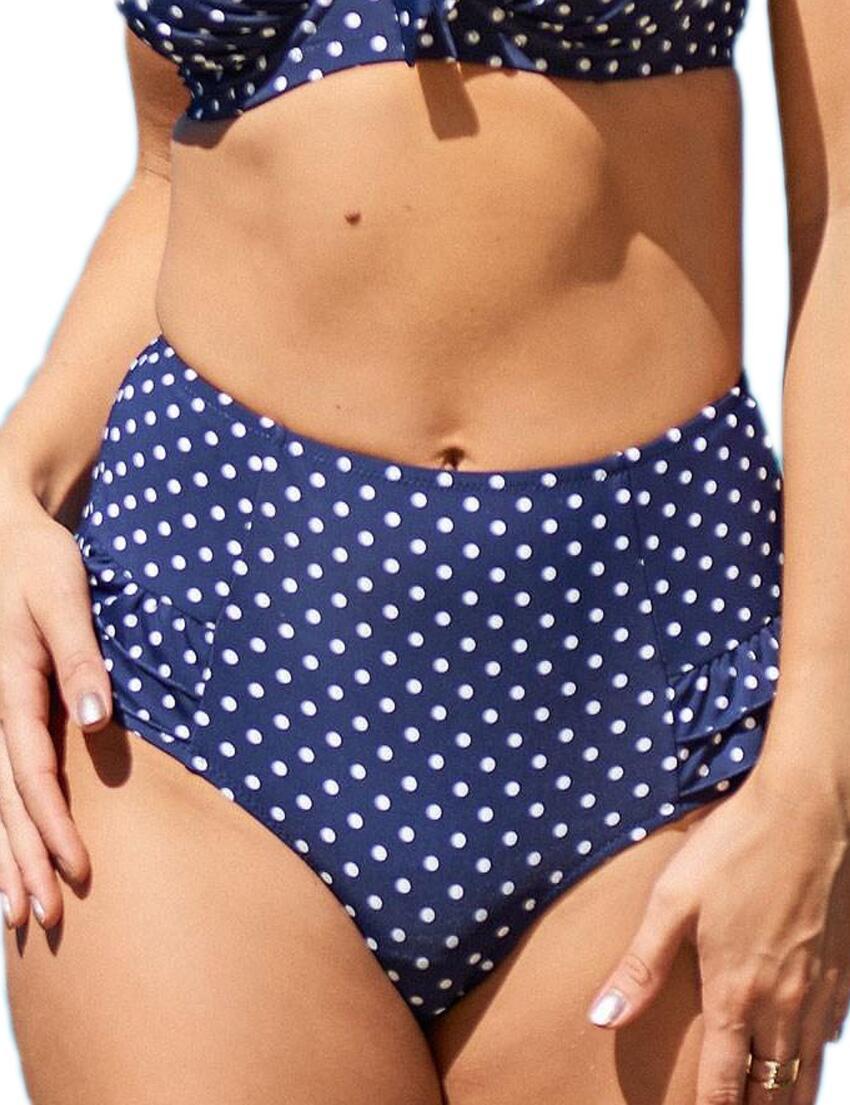 Pour Moi Donna Damen Hot Spots Control Slip Bikini