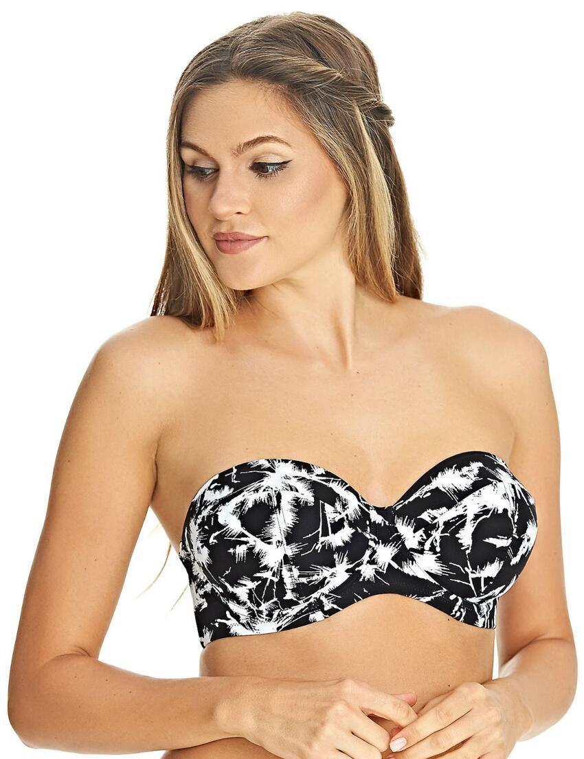 Freya Palm Haze 4022 Underwired Banded Halterneck Bikini Top
