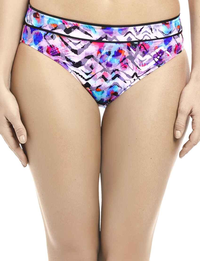 5040506db6f50 Save · 6449 Fantasie Malundi Mid Rise Bikini Brief - 6449 Multi