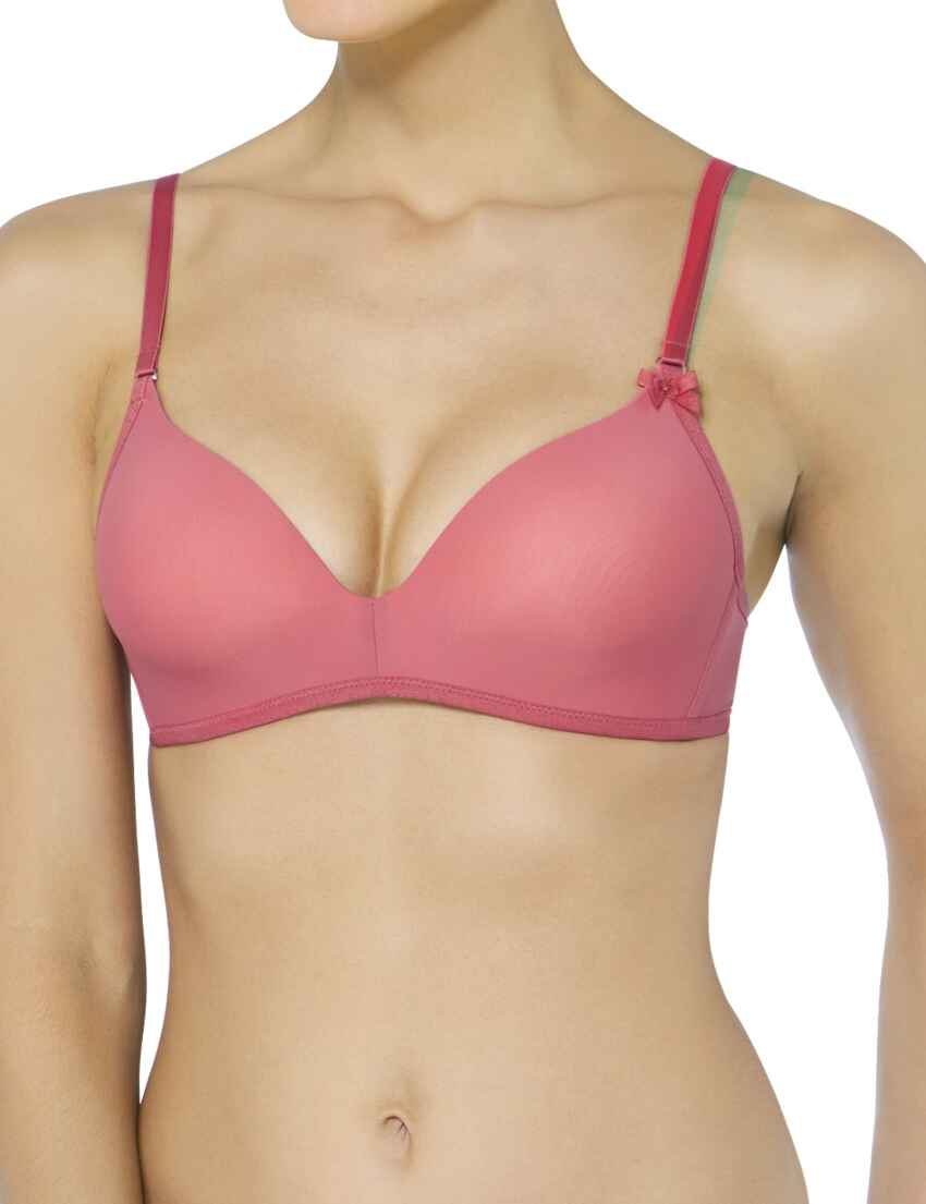 b7f734156c Save · 10167119 Sloggi Wow Comfort Padded Bra - 10167119 Baroque Rose
