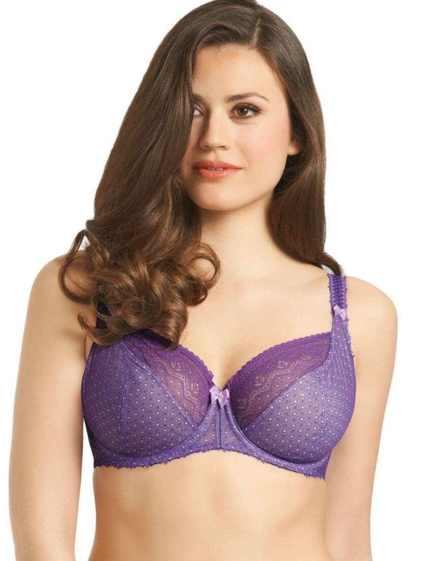 1361 1362 Freya Gem Balcony Bra Blackcurrant - 1361/62 Purple