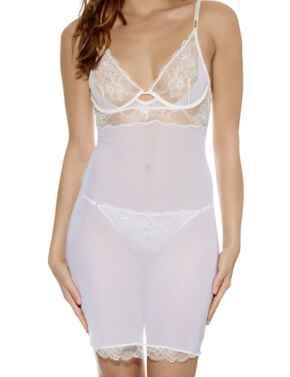 101009 Wacoal Marquise Chemise Nightdress - 101009 Cream Pink