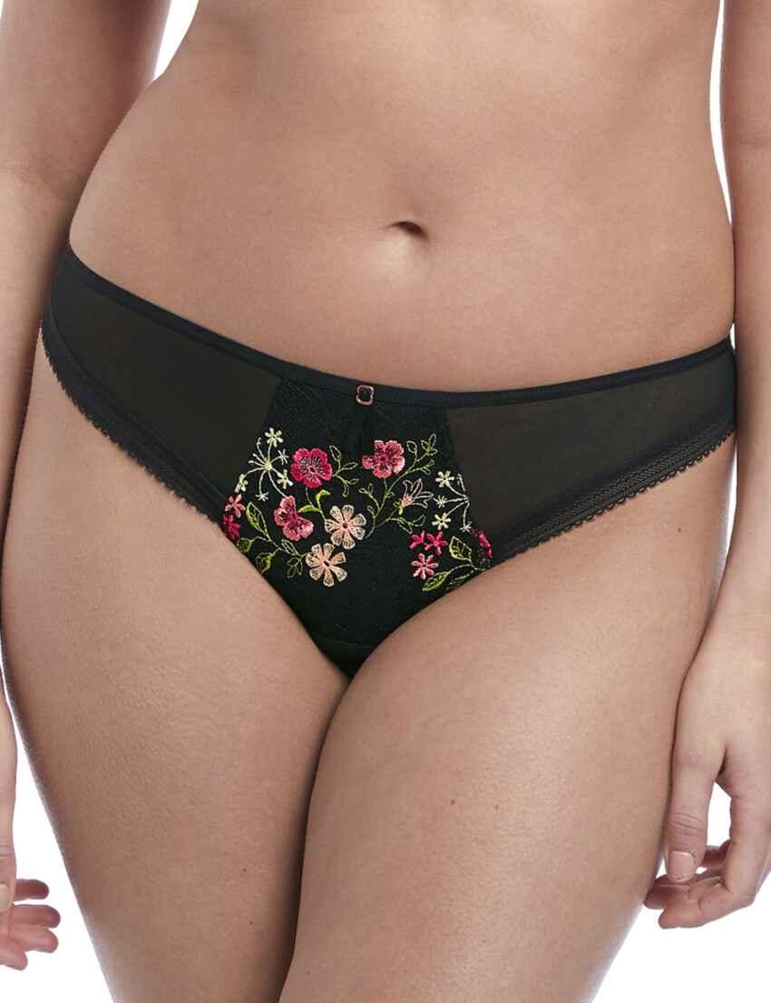 Freya Sassy Brazilian Brief Size S 10 12 XL 16 18 Thong Sand Nude White 4467 New