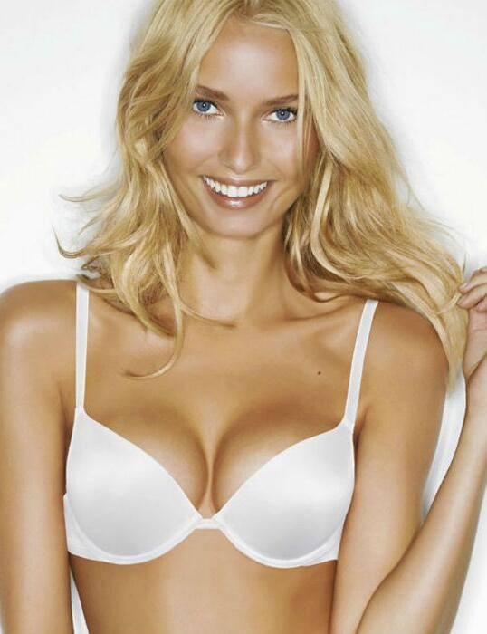 7925 Wonderbra Gel Push Up Bra  - 7925 White
