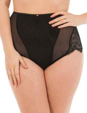 ST3905 Scantilly by Curvy Kate Intoxicate High Waist Brief - ST3905 Black