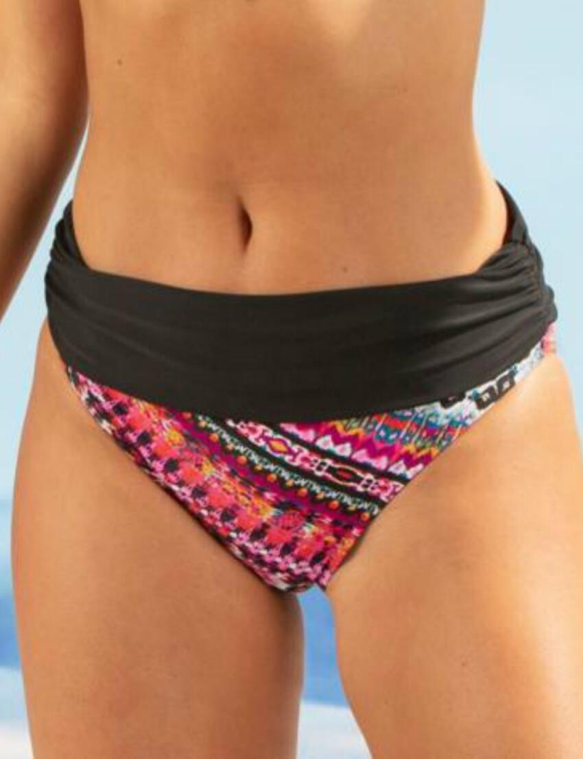 Pour Moi Odyssey Thunderstorm Underwired Non Padded Bikini Top or Fold Brief