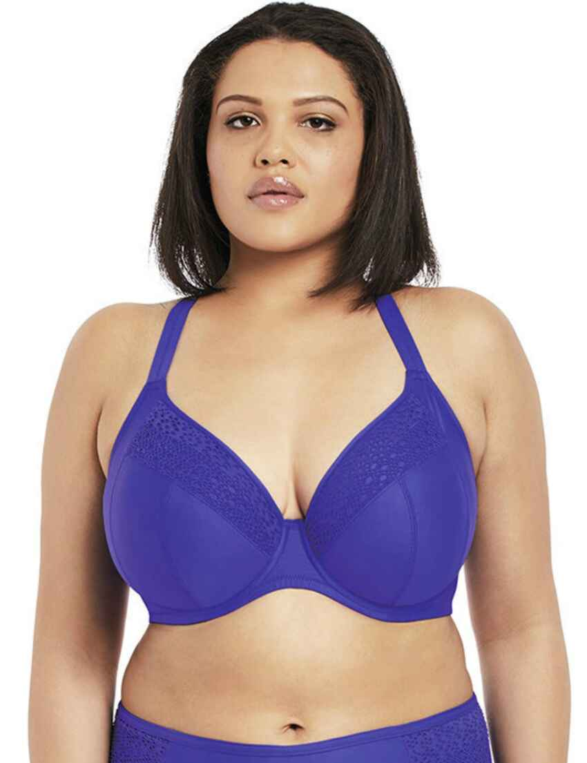 b1b1a31025331 Save · 7536 Elomi Indie Underwired Plunge Multiway Bikini Top - 7536 Indigo
