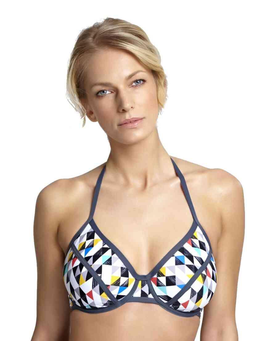 1205 Panache Jolee Halter Triangle Bikini Top 00e20fccb