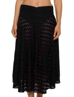 4004393 Prima Donna Swim Maya Pareo Skirt - 4004393 Black