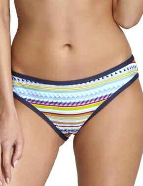 SW1178 Panache Aspen Classic Bikini Pant - SW1178 Multi Stripe