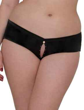 ST3503 Scantilly By Curvy Kate Voodoo Ouvert Brief - ST3503 Black