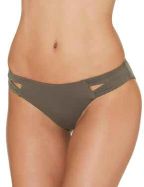ET22 Aubade Sexy Chill Brazilian Bikini Brief - ET22 Palm