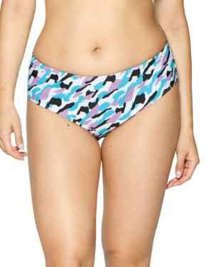 CS004508 Curvy Kate Miami Heat Reversible Retro Short - CS004508 Print Mix