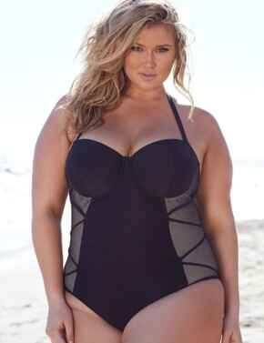 PPHG003 Playful Promises Hunter McGrady Swimsuit - PPHG003 Black