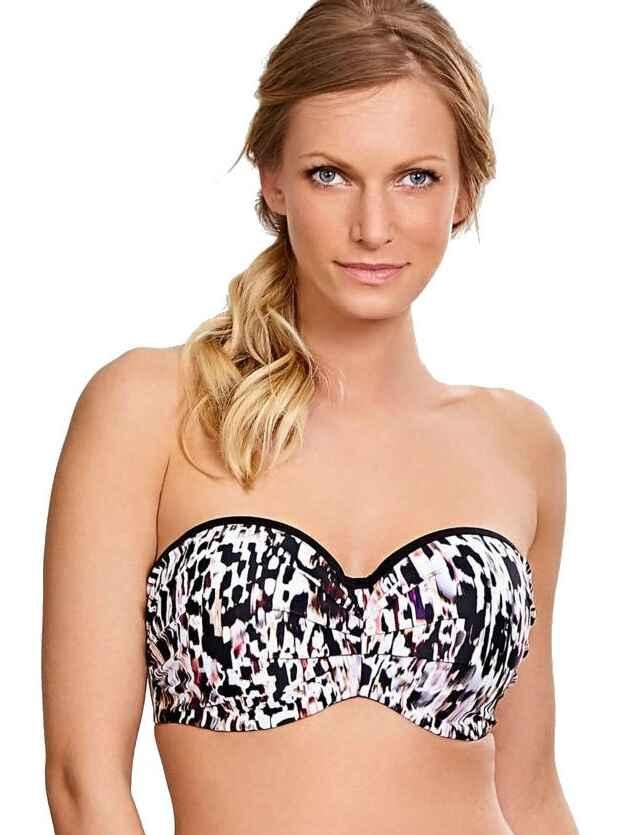 3fde9567bdc Save · SW1053 Panache Florentine Bandeau Bikini Top - SW1053 Animal Print