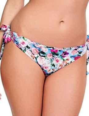 SW1148 Panache Alanis Tie Side Bikini Brief - SW1148 Blue/Floral