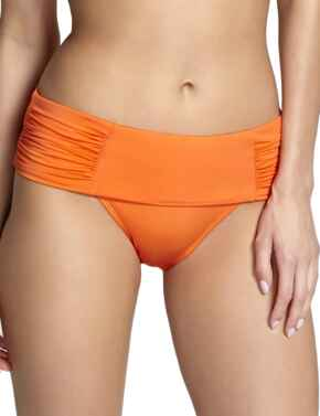 SW0837 Panache Marina Fold Bikini Brief - SW0837 Tangerine