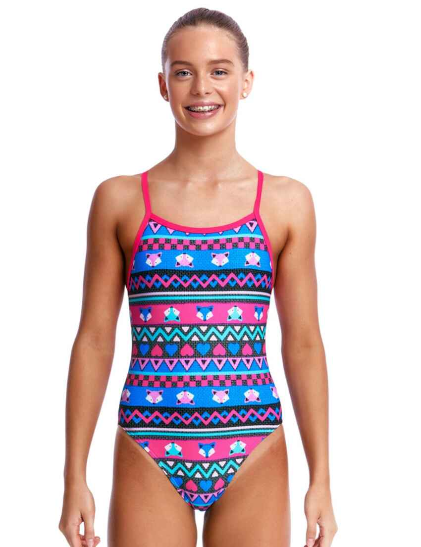 5a1dc13ec1 FS16G02190 Funkita Girls Miss Foxy Single Strap One Piece Swimsuit -  FS16G02190 Miss Foxy