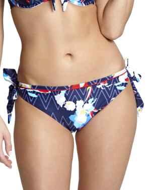 SW1158 Panache Milano Tie Side Bikini Brief - SW1158 ZigZag Floral