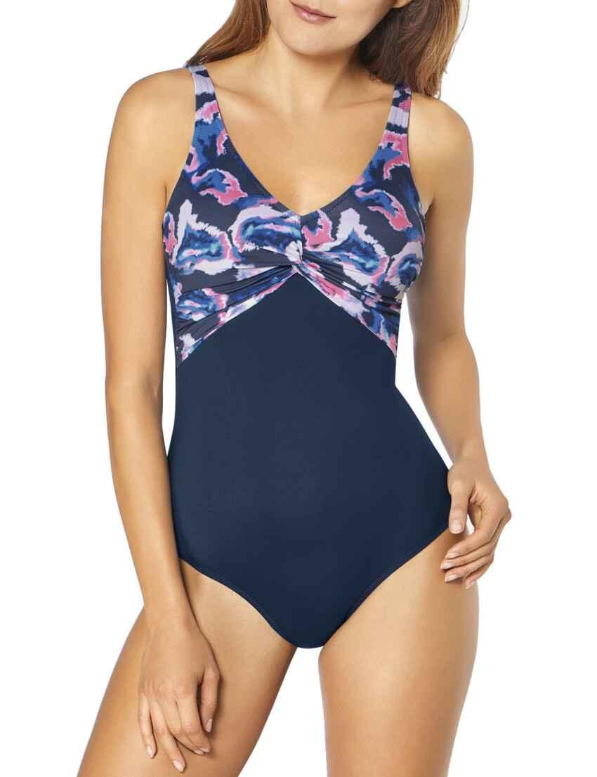 395478d7e8 Save · 10195674 Triumph Venus Elegance Underwired Padded Swimsuit -  10195674 Blue/Dark Combination