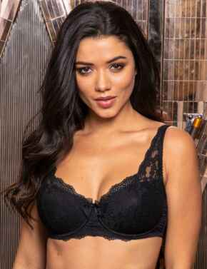 14800 Pour Moi Flora Lightly Padded Underwired Bra - 14800 Black