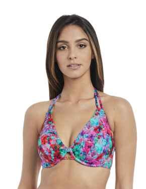 2942 Freya Mamba Underwired Bandless Halter Bikini Top - 2942 Multi