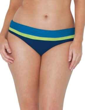 CS4625 Curvy Kate Maya Fold Over Brief - CS4625 Blue Mix