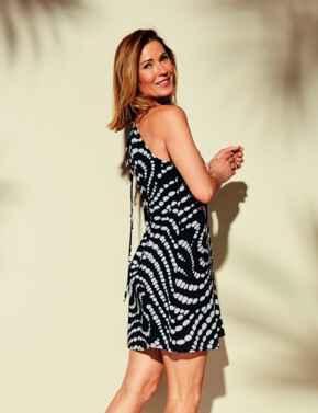 10195564 Triumph Streams Of Pearls Beach Dress - 10195564 Black Combination