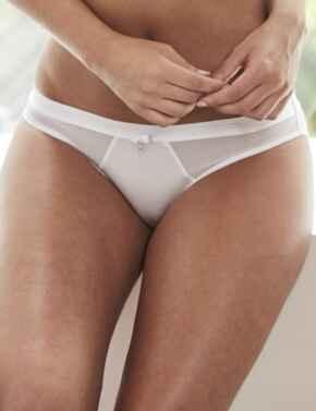 15004 Pour Moi Viva Luxe Bikini Style Brief - 15004 White