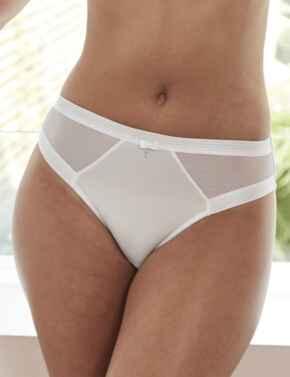15003 Pour Moi Viva Luxe High Leg Brief - 15003 White