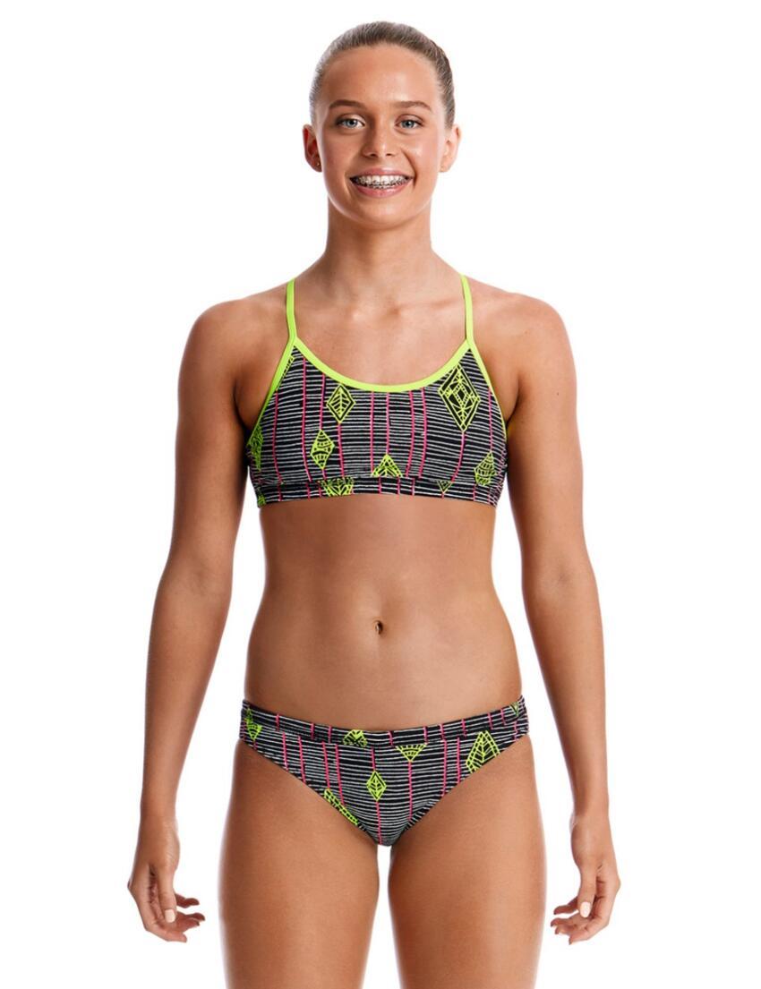 Funkita Ladies Pengoo Parade Sports Bikini Brief Bottoms FS03L02069 Swimwear