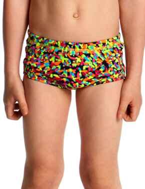 FT32T Funky Trunks Toddler Boys Printed Swim Trunks - FT32T01977 Fireworks