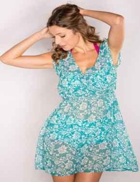 7109 Pour Moi Aloha Sleevelees Dress - 7109 Spearmint
