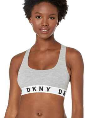 DK4519 DKNY Cozy Boyfriend Energy Bralette - DK4519 Grey