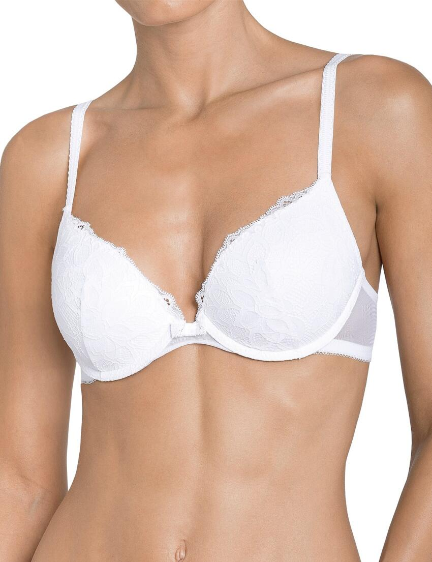 Triumph Body Make-Up Blossom Underwired Padded Bra 10152887 Night Forrest