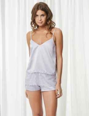 40700 Bluebella Elva Cami And Shorts Set - Lilac